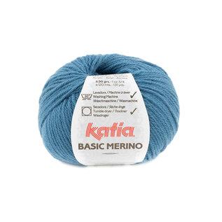 BASIC MERINO 81 blauw bad 26242A