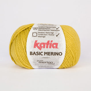 BASIC MERINO 61 Mostaza Claro bad 76096A