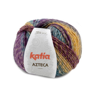 Katia AZTECA 100g 7873 violet-turquoise bad 25756A