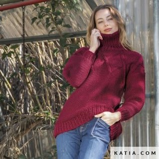Katia BIG MERINO 17 Donkergroen bad 20305