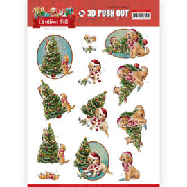 3D Push Out - Amy Design - Christmas Pets - Christmas Tree