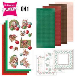 Sparkles Set 41 - Amy Design - Christmas Pets - Christmas Balls