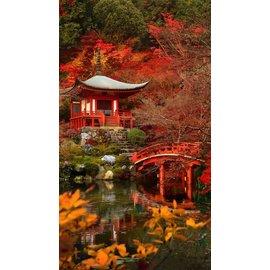 Diamond painting 40 x 50 Japanse tuin