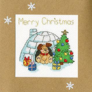 Borduurpakket Margaret Sherry - Winter Woof 10 x 10 cm