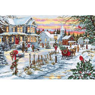 Borduurpakket Christmas Eve
