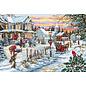 Borduurpakket Christmas Eve 48 x 32,5 cm