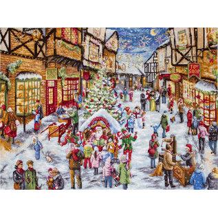 Borduurpakket Christmas Eve 49 x 35 cm