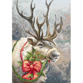 Borduurpakket Christmas Deer 21 x 30 cm