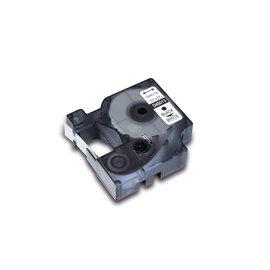 Tapecassette Kangaro compatible Dymo 45013 zwart/wit