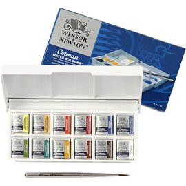 Cotman Aquarelverf box 14 delig