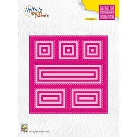 """Nellie's choce Multu Frame Dies """"Block die square"""""""
