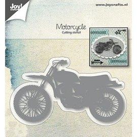 JOY! snij- en embosstencil Joy! Crafts motorcycle