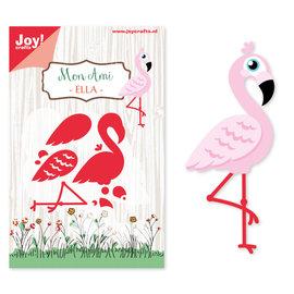 Joy! Stencil Mon Ami Flamingo Ella