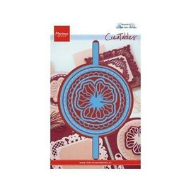 Marianne Disign Creatables Anja's vertical folding die round