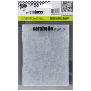 Carabelle ArtEmboss circles and dots
