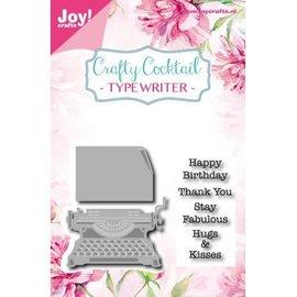 Crafty Cocktail Typewriter