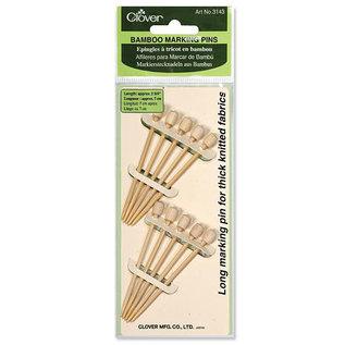 Bamboo Marking Pins