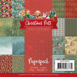 Amy Design Paperpack - Amy Design - Christmas Pets