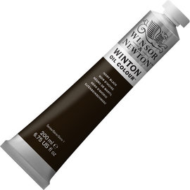 Winsor&Newton Winsor&Newton, Winton Oil Colour, Ivory Black, nr.331, 200ml