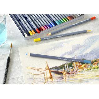 Faber-Castell Aquarelkleurpotlood Faber-Castell Goldfaber etui 12 stuks