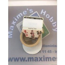Masking tape - Kerst 15mmx10m