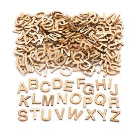 Houten alfabet 162st.