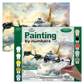 Royal & Langnickel Painting By Numbers Adult Large FLYING FORTRESS