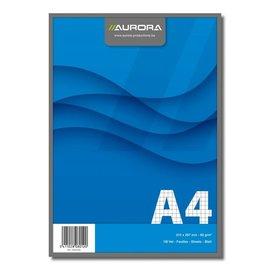 Notablok A4, 210x297mm, geruit 5mm, 100 vel, 60g/m²
