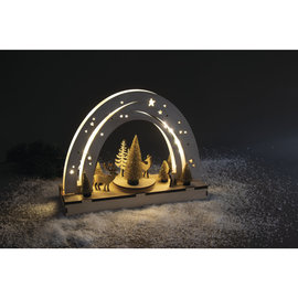 "Rayher 3D houten bouwset ""Nachthemel"" met draaischijf"