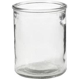 Glazen Theelichthouder om te bewerken, 9,8 cm, 8 cm, 6 Stuk