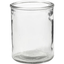 Glazen Theelichthouder om te bewerken, 9,8 cm, 8 cm