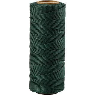 Bamboekoord, 1 mm, Groen, 65 M, 1 Rol