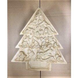 Ecochape kerstboom van klein naar groot 3 delig ca.26x23cm