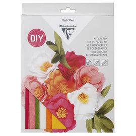 Clairefontaine Set crepepapier, Bloemenboeket