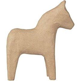 Decopatch Papier-Mache Paard ca.10cm