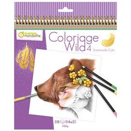 Avenue Mandarine Kleurboek Coloriage Wild 4