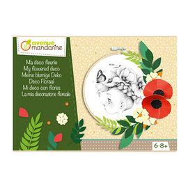 Avenue Mandarine Creatieve box, Deco floral