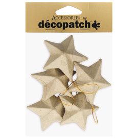 Decopatch Decopatch sterren ca.7cm 5st.