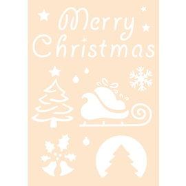 JOY! Joy! stencil Merry Christmas