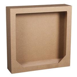 Rayher Papiermache lijst met houten bodem