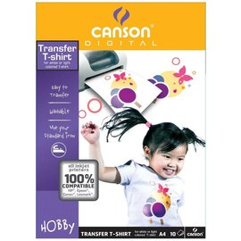 Canson Transfer T-shirt, All Inkjet Printers, A4, 10 vellen