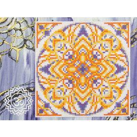 Diamond Painting Sahasrara 18 x 24 cm, viekante steentjes