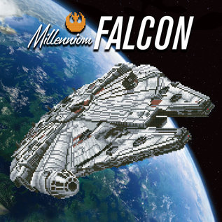 Camelot DOTZ® - 51.5cmx51.5cm - Millenium Falcon