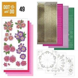 Dot and Do nr.49 Roze Bloemen