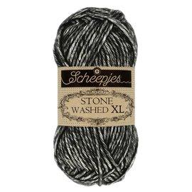 Scheepjes Stone Washed XL 843 Black Onyx bad 0008