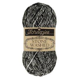 Scheepjes Stone Washed 803 black onyx bad 00081