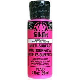 FolkArt FolkArt • Multi-Surface paint Bright Pink 59ml