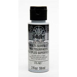 FolkArt FolkArt • Multi-Surface glitter Chunky silver 59ml