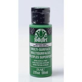FolkArt FolkArt • Multi-Surface paint Bright green 59ml