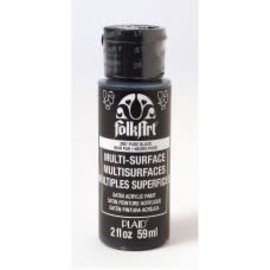 FolkArt FolkArt • Multi-Surface Pure black 59ml